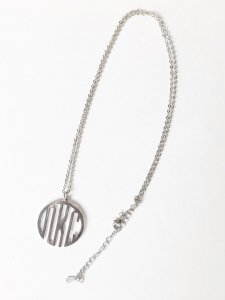 N Circle Charm Neckless.
