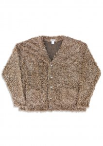 N Twist Fur Cardigan.