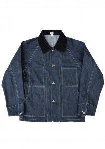 N Indigo Chore Jacket.