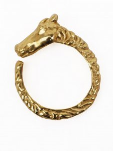No.4// Horse Head Ring.