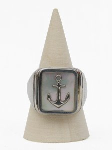 No.4// Anchor Shell Ring.