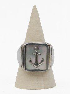 No.4// Anchor Shell Ring.