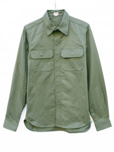 N Sulfur Herringbone Shirt.