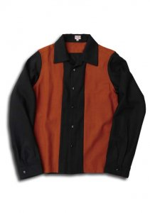 N Twotone Wool Shirt.