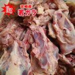 【鶏ガラ】若ガラ(1kg) 【冷凍】