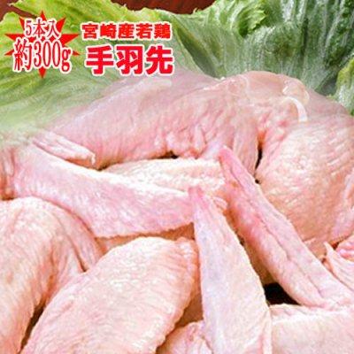 ★宮崎県産★若鶏手羽先(500g)【冷蔵】