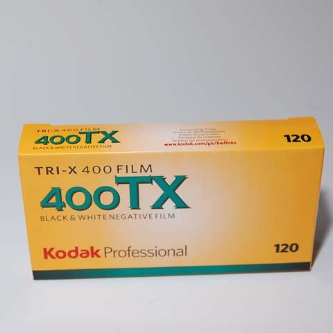 Kodak 120白黒 TX400 5P