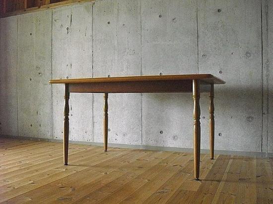 Oak Dining Table(キツツキ)