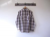 Lot.3104 Flannel Shirts A柄/One Wash(WAREHOUSE)