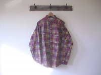 BIG YANK PRINT NELL SHIRTS 1940model(WAREHOUSE)