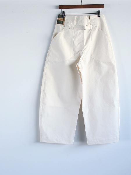 ASSEDONCLOUD HW wide trousers 備前壱号