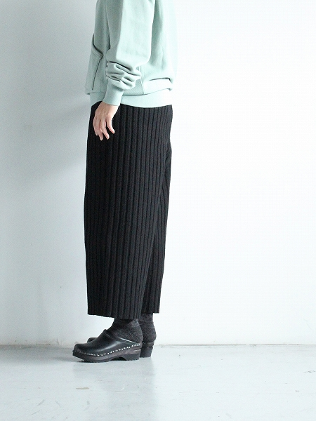 Cale Wool Felt Easy Pants
