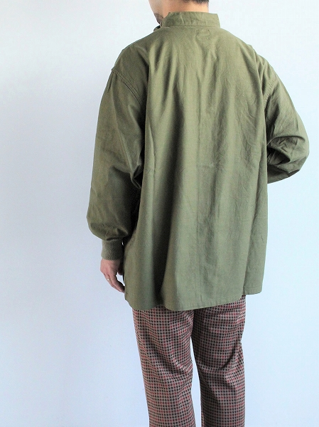 NEEDLES S.C. Army Shirt - Back Sateen