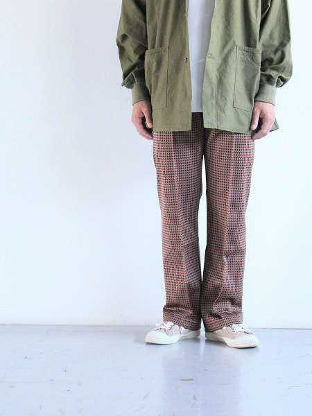 NEEDLES Track Pant - Poly Jq / Houndstooth