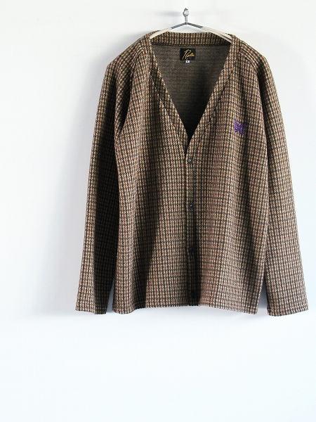 Needles V Neck Cardigan - Gunclub Jq.