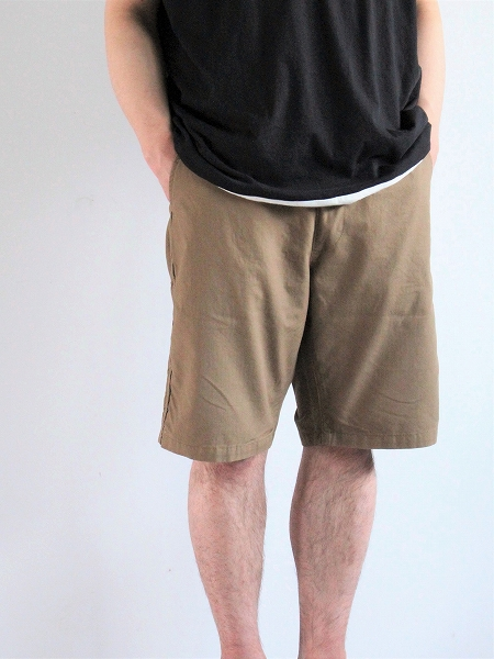NECESSARY or UNNECESSARY - NOUN / SPINDLE PAINTER SHORTS / スピンドルペインターショーツ
