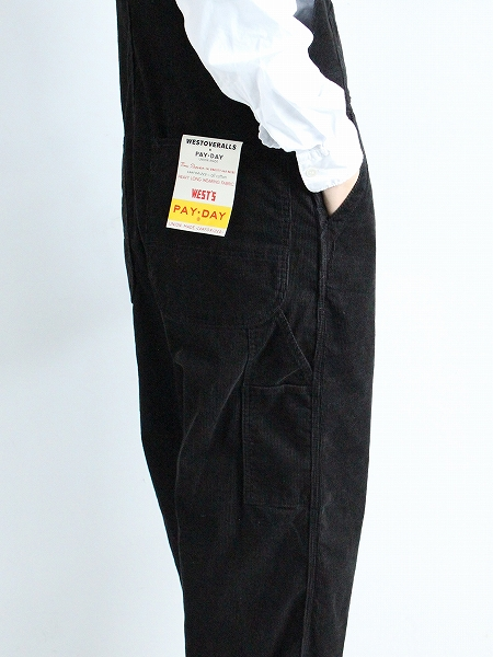 PAYDAY × WEST'S CORDUROY OVERALL コーデュロイ オーバーオール