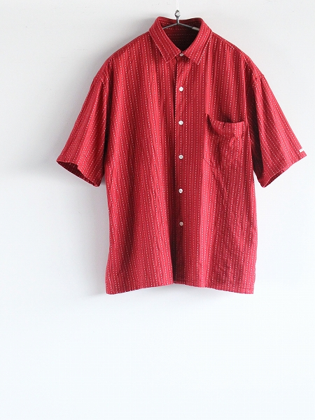 Porter Classic ポータークラシック / HAPPY RED SHORT SLEEVE SHIRT