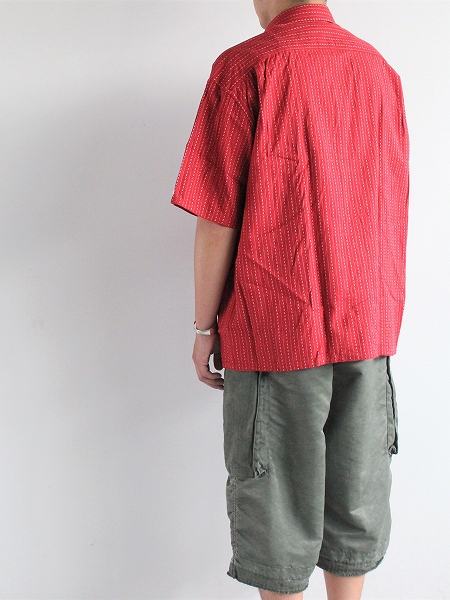 Porter Classic HAPPY RED SHORT SLEEVE SHIRT