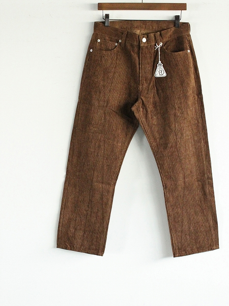 CORDUROY FIVE POCKET PANTS