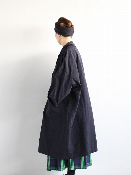 R&D.M.Co-/ OLDMAN'S TAILOR - GARMENT DYE OVER SIZE COAT