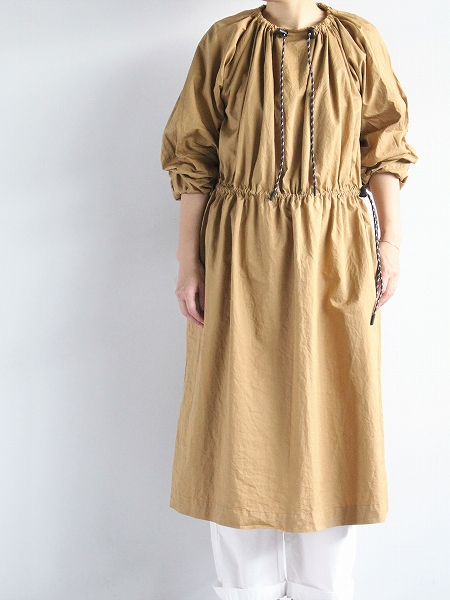 R&D.M.Co- / OLDMAN'S TAILOR (オールドマンズテイラー) GARMENT DYE SMOCK DRESS