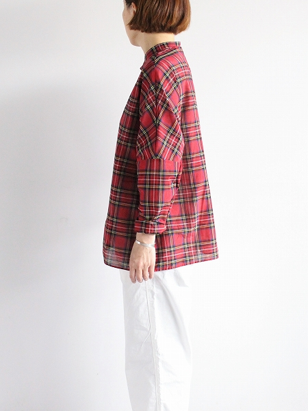 R&D.M.Co- C/S TARTAN CHECK BUGGY SHIRT