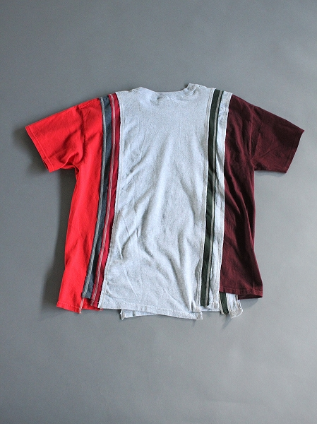 Rebuild By Needles 7 Cuts Wide Tee - College