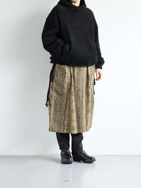 South2 West8 (S2W8) Army String Skirt - Flannel Pt. / Skull&Target
