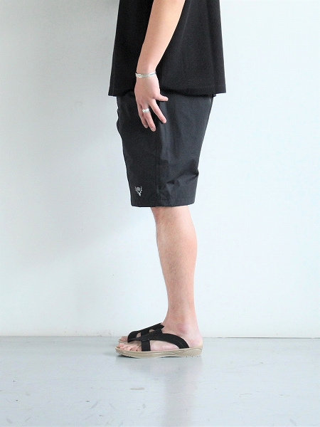South2 West8 (S2W8) Belted Center Seam Short - Nylon Tussore