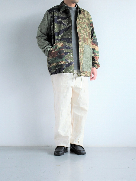 South2 West8 (S2W8) COACH JACKET - CRAZY CAMO