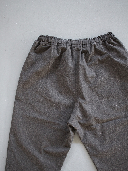 THE HINOKI Cotton Horse Cloth Tapered Easy Pants
