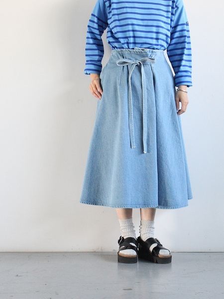 WESTOVERALLS LOOP BELT SKIRT
