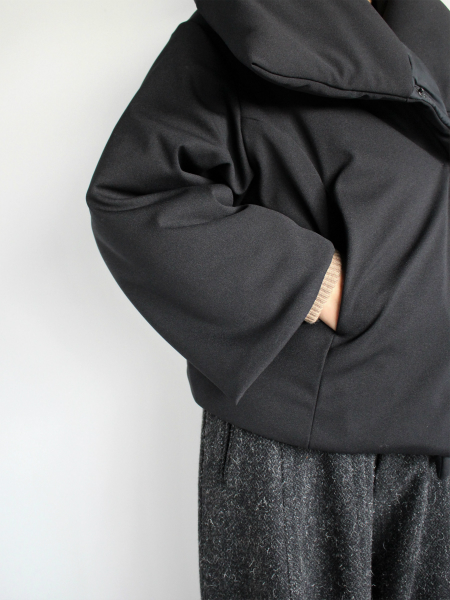 ALWEL QUILTED WRAP JACKET