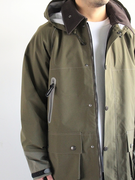 and wander Barbour CORDURA e vent Jacket