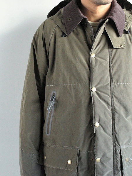 and wander Barbour rip Jacket
