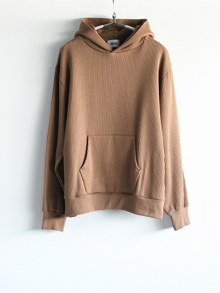 blurhms ROOTSTOCK Cotton Wide-wale Hoodie P/O