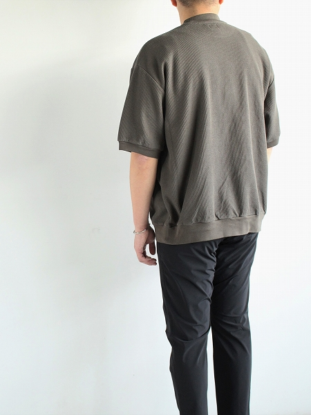 blurhms サーマルTシャツ Rough&Smooth Thermal Pullover S/S