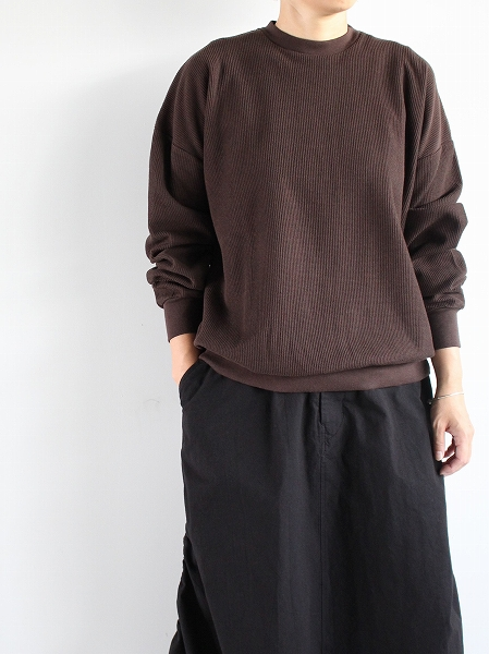 blurhms New Rough&Smooth Thermal P/O Loose Fit
