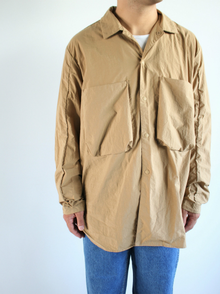 blurhms Nylon Utility Shirt Jacket