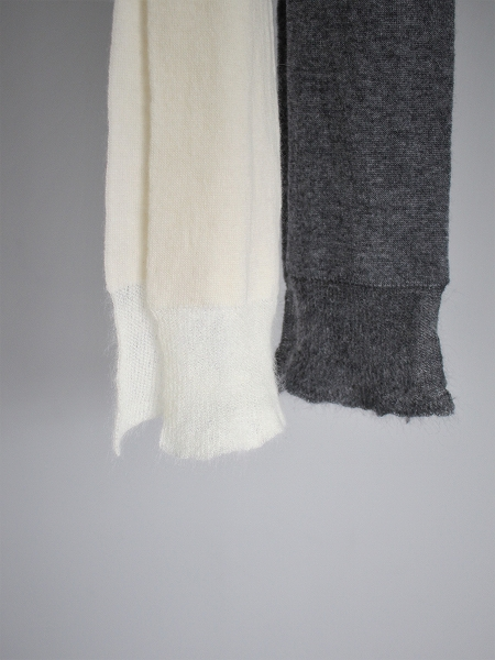 eleven 2nd Cashmere / Mohair-Edge Stole