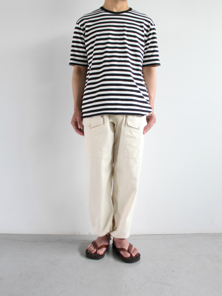 THE HINOKI S/S ボーダーカットソー