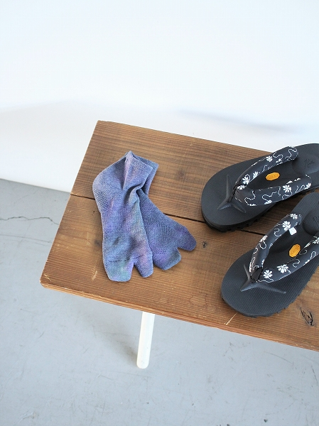 NEEDLES Thumb Ankle Socks - Cool Max / Uneven Dye