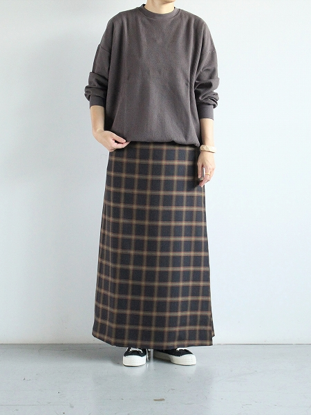 NEEDLES Wrap Skirt - Plaid Twill