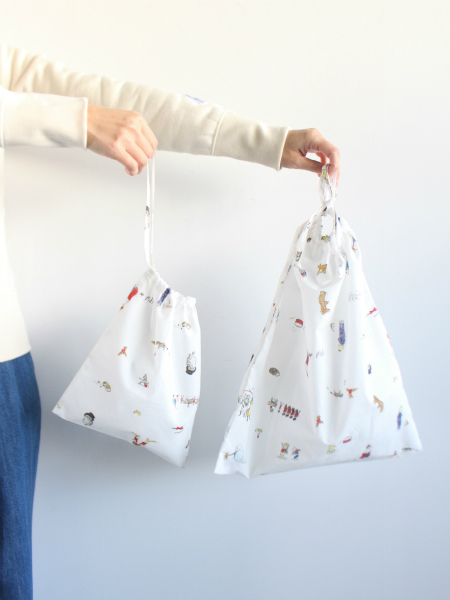 R&D.M.Co- DRAWSTRING BAG