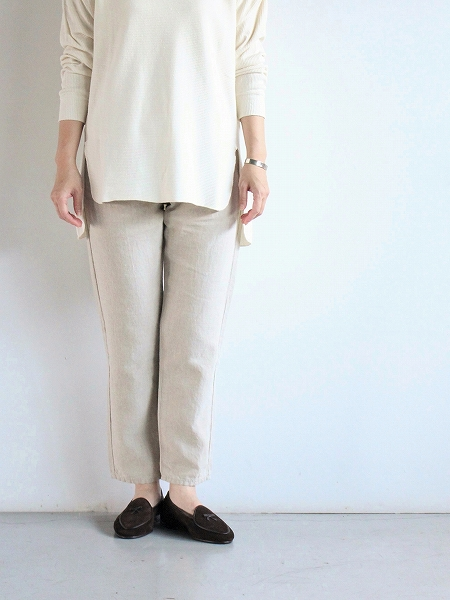 Ordinary fits LINEN 5POCKET ANKLE