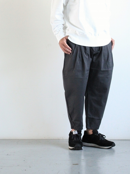 Porter Classic SATCHMO CHINOS / CHARCOAL GRAY