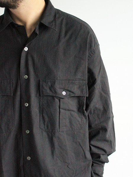 Porter Classic ROLL UP VINTAGE COTTON SHIRT