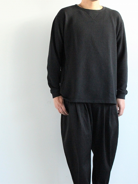 Porter Classic FRENCH THERMAL CREW NECK