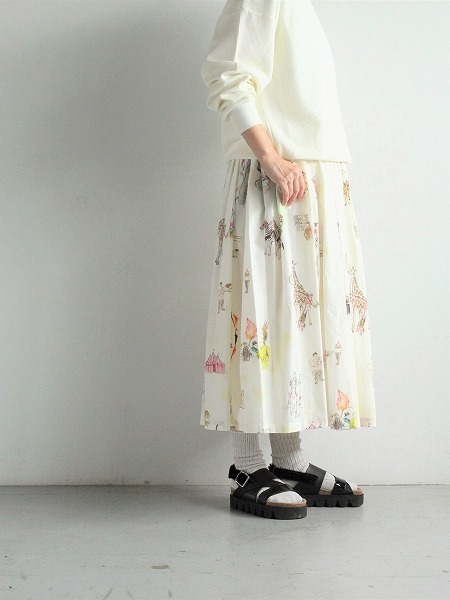 R&D.M.Co- CIRCUS GATHER SKIRT